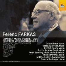 Ferenc Farkas (1905-2000): Kammermusik mit Cello Vol.2, CD