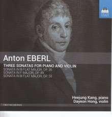 Anton Eberl (1765-1807): Violinsonaten opp.35,49,50, CD