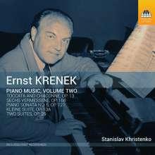 Ernst Krenek (1900-1991): Klavierwerke Vol.2, CD