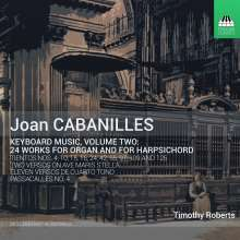 Juan Bautista Cabanilles (1644-1712): Musik für Tasteninstrumente Vol.2, CD