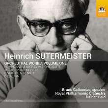 Heinrich Sutermeister (1910-1995): Orchesterwerke Vol.1, CD