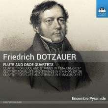 Friedrich Dotzauer (1783-1860): Flötenquartette E-Dur op.57 & a-moll op.38, CD