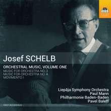 Josef Schelb (1894-1977): Orchesterwerke Vol.1, CD