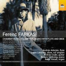 Ferenc Farkas (1905-2000): Kammermusik mit Flöte & Oboe, CD