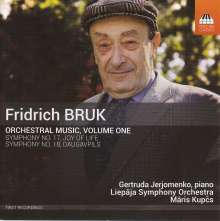 Fridrich Bruk (geb. 1937): Orchesterwerke Vol.1, CD