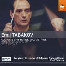 Emil Tabakov (geb. 1947): Sämtliche Symphonien Vol.3, CD