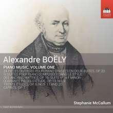 Alexandre-Pierre-François Boely (1785-1858): Klavierwerke Vol.1, CD