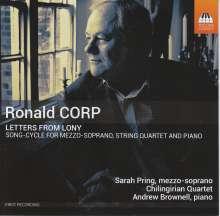 Ronald Corp (geb. 1951): Letters from Lony (Liederzyklus), CD