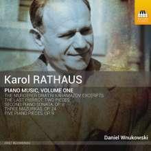 Karol Rathaus (1895-1954): Klavierwerke, CD