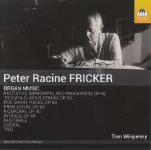 Peter Racine Fricker (1920-1990): Orgelwerke, CD