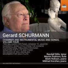 Gerard Schurmann (geb. 1924): Kammermusik Vol.4, CD