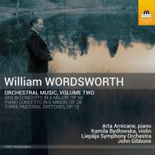 William Wordsworth (1908-1988): Orchesterwerke Vol.2, CD
