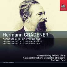 Hermann Grädener (1844-1929): Orchesterwerke Vol.1, CD