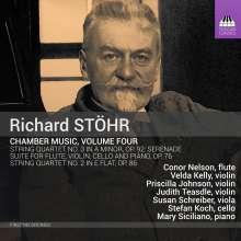 Richard Stöhr (1874-1967): Kammermusik Vol.4, CD