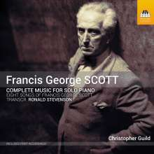 Francis George Scott (1880-1958): Klavierwerke, CD