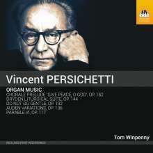 Vincent Persichetti (1915-1987): Orgelwerke, CD