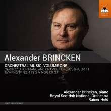 Alexander Brincken (geb. 1952): Orchesterwerke Vol.1, CD
