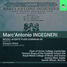 Marco Antonio Ingegneri (1547-1592): Missa Laudate pueri Dominum a8, CD