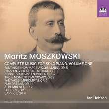 Moritz Moszkowski (1854-1925): Sämtliche Klavierwerke Vol.1, CD