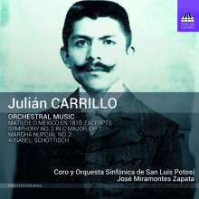 Julian Carrillo (1875-1965): Symphonie Nr.2, CD