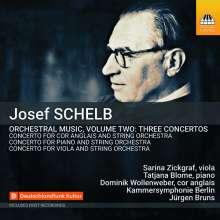 Josef Schelb (1894-1977): Orchesterwerke Vol.2, CD