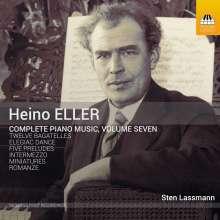 Heino Eller (1887-1970): Sämtliche Klavierwerke Vol.7, CD