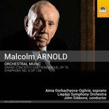 Malcolm Arnold (1921-2006): Orchesterwerke, CD