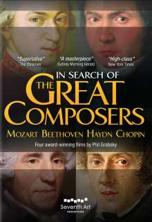 In Search of the Great Composers, 5 DVDs