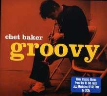 Chet Baker (1929-1988): Groovy, 3 CDs