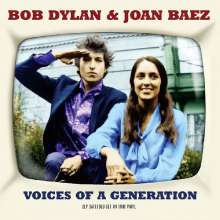 Bob Dylan & Joan Baez: Voices Of A Generation (180g), 2 LPs