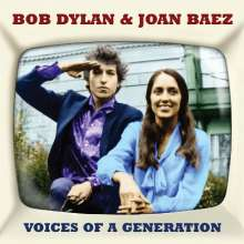 Bob Dylan & Joan Baez: Voices Of A Generation, 2 CDs