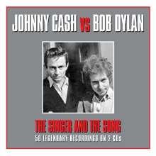 Johnny Cash: Johnny Cash Vs Bob Dylan, 2 CDs