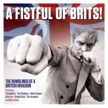 A Fistful Of Brits! - The Rumblings Of A British Invasion, 2 CDs