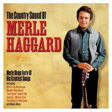 Merle Haggard: The Country Sound Of, 2 CDs