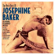 Josephine Baker: Very Best Of, 2 CDs