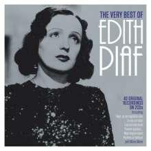 Edith Piaf (1915-1963): The Very Best Of Edith Piaf, 2 CDs
