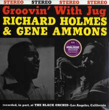 Richard 'Groove' Holmes (1931-1991): Groovin' With Jug (180g) (Limited-Edition), LP