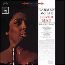Carmen McRae (1920-1994): Lover Man And Other Billie Holiday Classics (remastered) (180g) (Limited-Edition), LP
