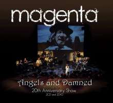 Magenta: Angels And Damned: 20th Anniversary Show, 2 CDs und 2 DVDs