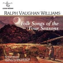 Ralph Vaughan Williams (1872-1958): Folks Songs of the Four Seasons, CD