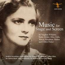 Music for Stage and Screen, CD