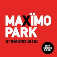 Maxïmo Park: 10th Anniversary Live: London Roundhouse 17/11/2015, 2 CDs