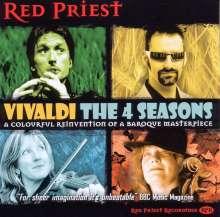 """Red Priest - Vivaldis """"The 4 Seasons"""", CD"""