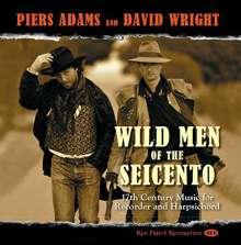 Piers Adams - Wild Men of the Seicento, CD