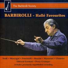 John Barbirolli - Halle Favourites Vol.1, CD