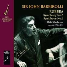 Edmund Rubbra (1901-1986): Symphonien Nr.5 & 6, CD