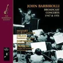 John Barbirolli - Broadcast Concerts 1947 & 1951, CD