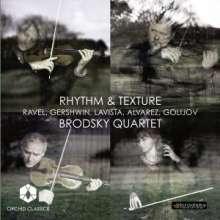 Brodsky Quartet - Rhythm & Texture, CD