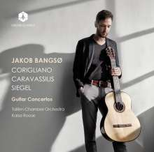 Jakob Bangsö - Corigliano / Caravassilis / Siegel, CD