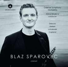 Blaz Sparovec spielt Klarinettenkonzerte, CD